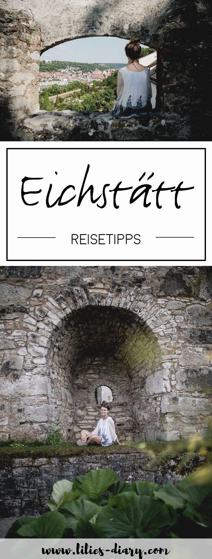 Ein Wahrzeichen Eichstätts ist die Willibaldsburg, die sich auf einem kargen Felsen über der Stadt erhebt. Das blühende Leben befindet sich hinter den Mauern der Burg. Mehr Reisetipps für Eichstätt und die schönsten Sehenswürdigkeiten verraten wir auch auf www.lilies-diary.com.