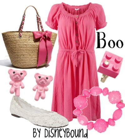 .: Disney Inspiration Outfits, Disney Outfits, Disney Style, Boo Monsters, Dresses, Monsters Inc, Disneybound, Disney Bound, Disney Fashion