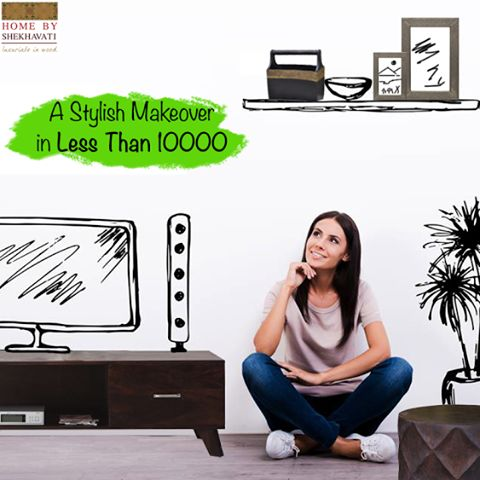 !!! SHOP UNDER 10000 !!! WOW! That's what she said while buying the chic and classy furniture from Home By Shekhavati.   Budget quality furniture is what we serve.  Hurry!!! To grab the beauty.  Visit : http://bit.ly/HBS_Shop