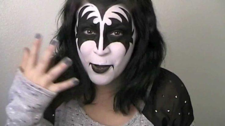 KISS Makeup Tutorial - The Demon (Gene Simmons) - VivaGlamLana