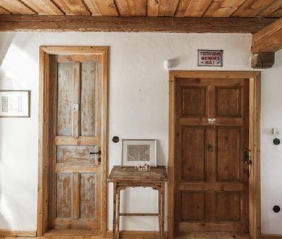 1st floor bedroom door - The Bat Barn Luxury Villa at Lake Balaton