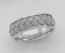 Turks Head Knot Ring