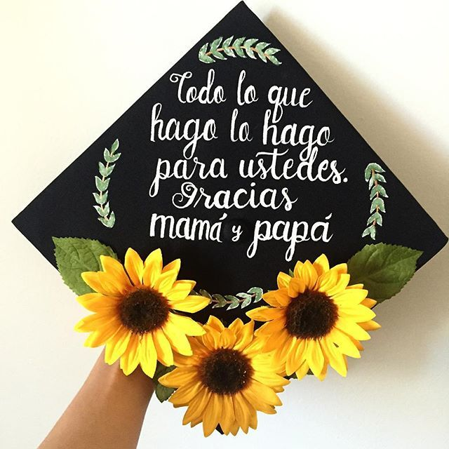 "So I wanted to make my cap with something Tangled, but in all honesty, I owe everything to my parents, not a Disney movie. ""Everything I do, I do for you. Thank you mom and dad."" As a first generation student, I owe my success to my parents who have given up everything for me. I can't wait to surprise them with my cap on the day of my graduation in a few weeks!  #gradcap #gradcaps #graduationcap #graduationcaps #latina #graduation #gradcapdesigns #classof2016"