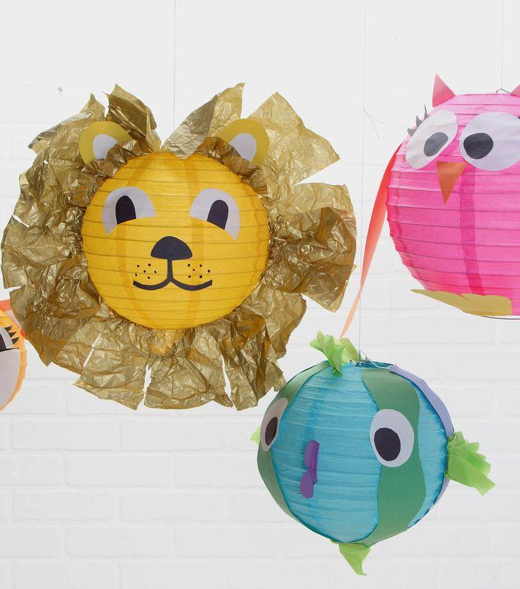 Animal Parade Paper LanternsAnimal Parade Paper Lanterns