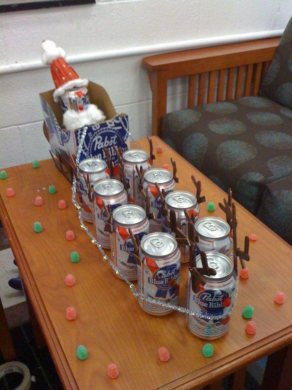 Rainbeers. haha.  Tacky Christmas party