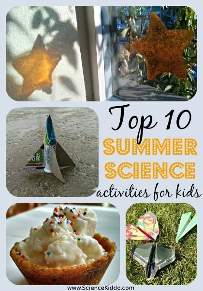 Discover 10 easy summer science activities for kids. Everything from cool treats to outdoor explosions. Keep your kids learning with fun summer science.