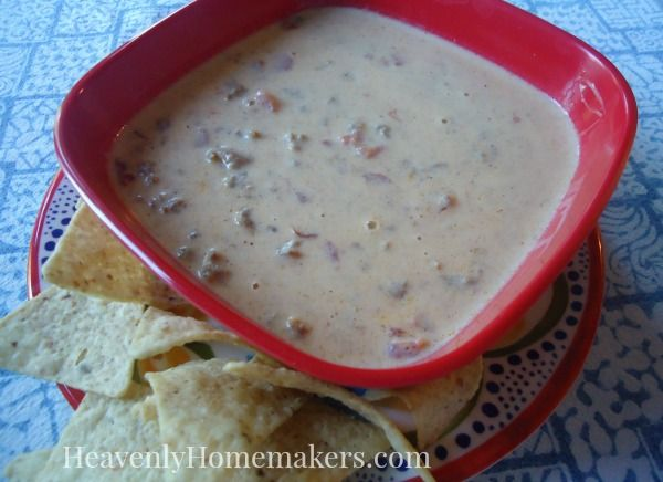 "This looks so good, and I too have been missing the Meaty, Velveeta Dip I grew up with. Way to go lady! I am using your recipe. Real Food ""Velveeta"" and Rotel Recipe."