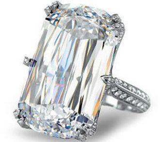 Chopard. A seven million dollar diamond ring.
