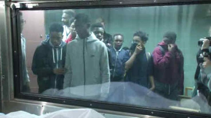 SCARED STRAIGHT: ANTI-GUN VIOLENCE PROGRAM TAKES KIDS TO MORGUE 05.18.16 A new program is giving students a serious reality check when it comes to gun violence.