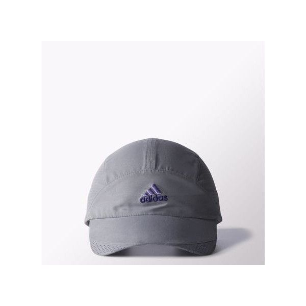 adidas Climacool Trainer Hat ($17) ❤ liked on Polyvore featuring accessories, hats, grey, grey cap, gray hat, caps hats, uv protection hats and grey hat