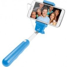 Selfie stick CELLULAR LINE extensibil blue