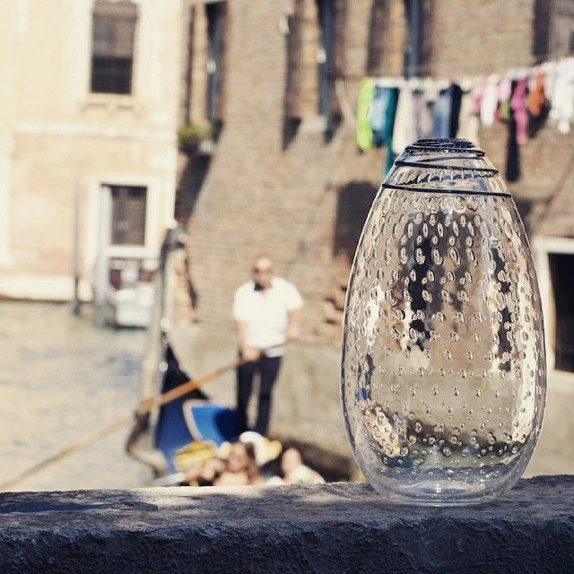 Memories from a few years ago... How would you fill this #yourmurano vase?