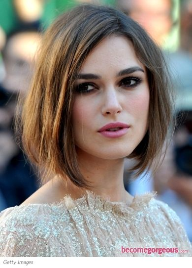 long Side-Parted Bob Hairstyle