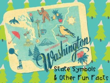 A great addition to your Washington State History unit! This presentation includes information on the following topics:  - State Seal - State Bird - State Flag - State Amphibian - State Folk Song - State Insect - State Motto - State Nickname - State Dance - State Mammal - State Tree - State Flower.  Supplemental video links, Cornell Notes, Postcard Exit Ticket and other printables are also included.