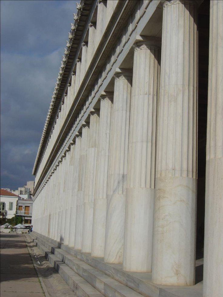 Athens, restored Stoa of Attalos.