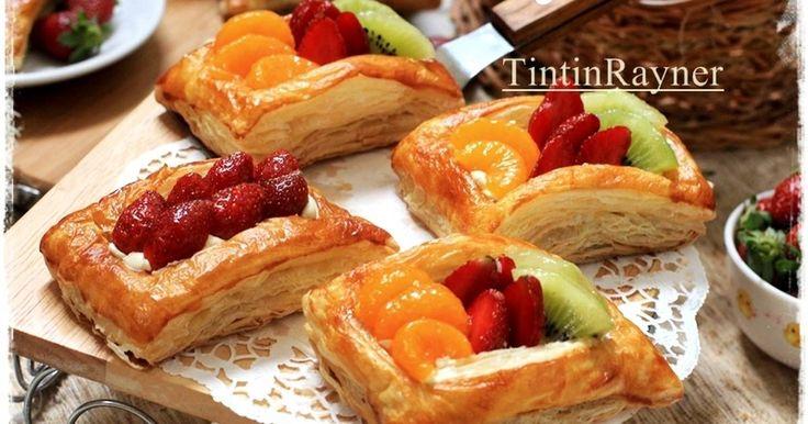 Resep Fruit Puff Pastry Instant - kilat mudah cantik favorit. Lagi2 kalo lagi demen sama 1 hal diterus2in mulu..wkwkwk kemaren ketagihan sama puff instant beli di TBk koq praktis bgtt,cakep+ga kalah crunchyy kopong sm bakery2 terkenal lho texturnya,ga sangka aku yg sama sekali ga bisa bkin adonan pastry ini tetep bisa menyajikan puff2 imut wkwkwk.Meskipun instan moms .^^ soale mau bkin sendiri belom ada nyali..#lohhh..gubrakkkk Bikin cpttt pake bangettt..panggang jg cepett Cucok bgtt kalo…