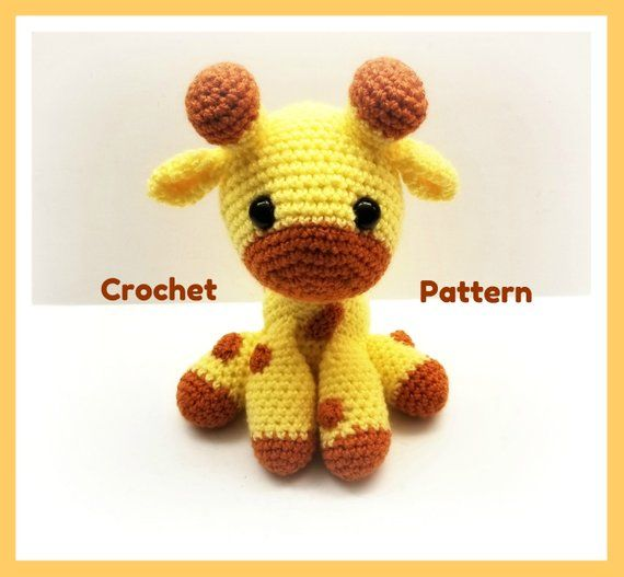 Ravelry: Baby Giraffe Amigurumi pattern by Courtney Deley ... | 527x570