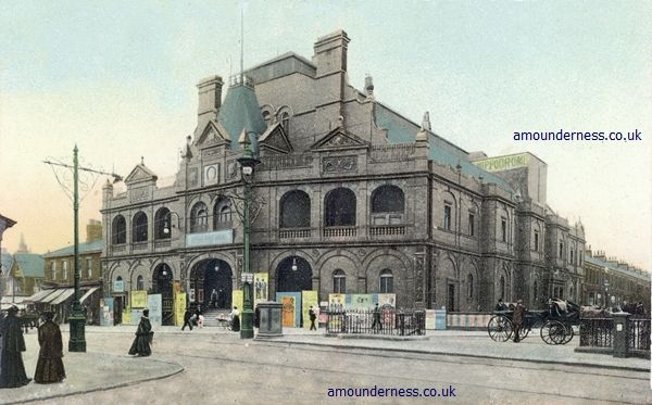 Lytham & St.Annes on the Sea Lancashire - Local History - Hippodrome Theatre Blackpool 1900-1963