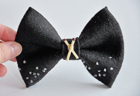 Supernatural Salt & Burn Hair Bow from MyGeekisShowing on Etsy!