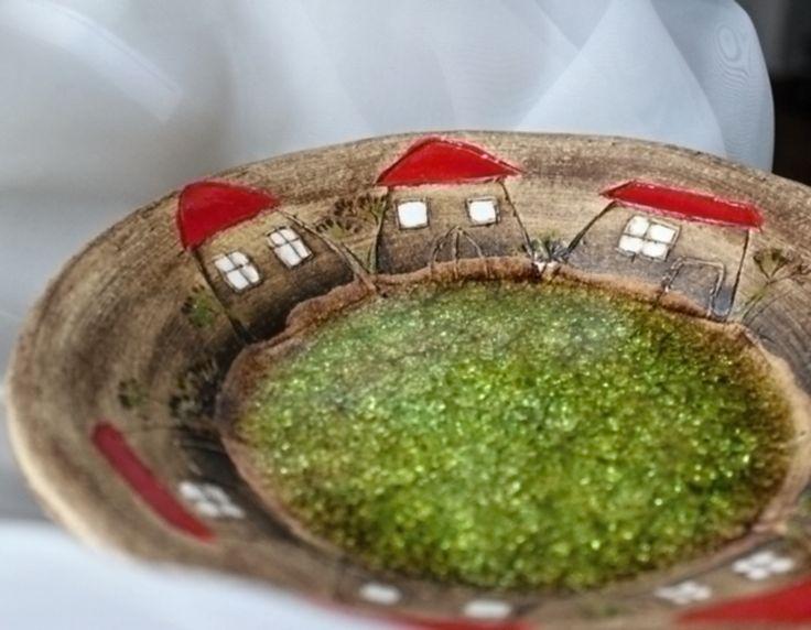 Talíř+2.+Keramický+talíř+se+sklem+Průměr+talíře+21+cm