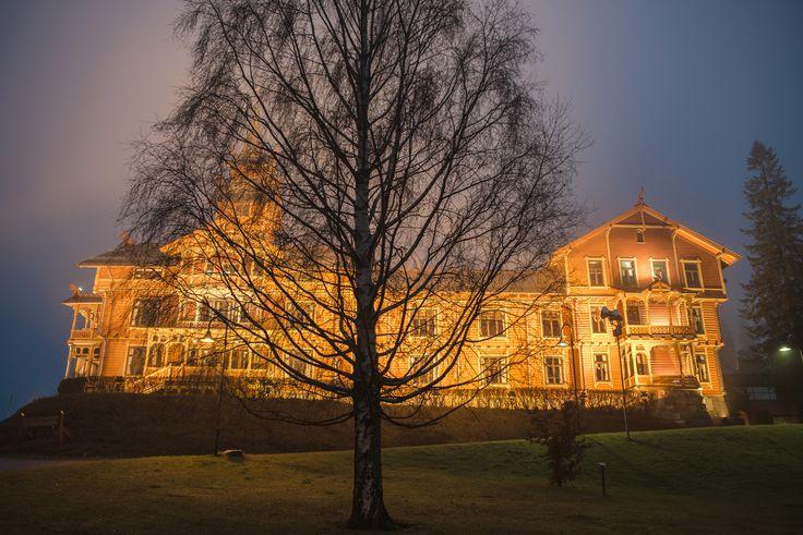 Holmenkollen Park Hotel in the morning