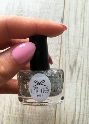 Kup mój przedmiot na #vintedpl http://www.vinted.pl/kosmetyki/pielegnacja-paznokci/11565403-lakier-do-paznokci-mini-ze-srebrnym-brokatem