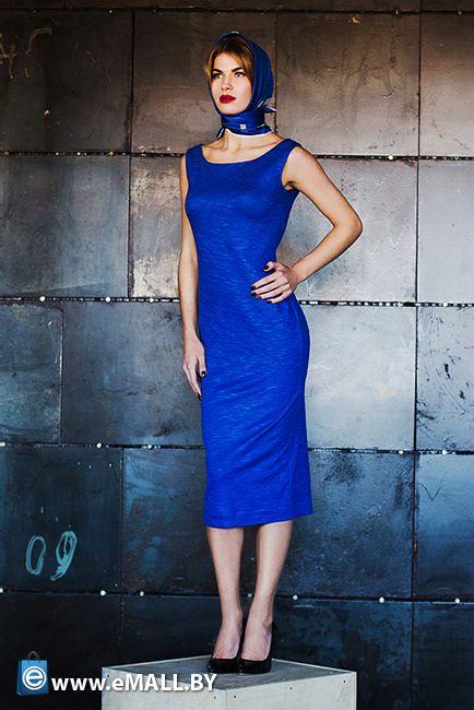 MO1408-06 Платье трикотажное, с декольте по спине MIRANOVICH