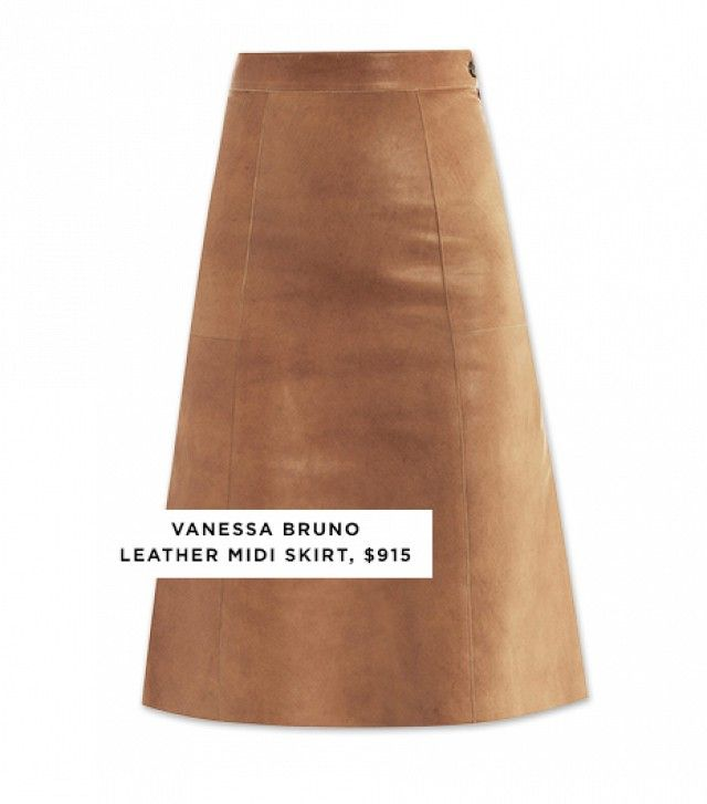 10 Stylish Midi Skirts With The Editor Stamp of Approval via @WhoWhatWear