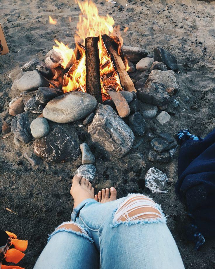 beach bonfire nights