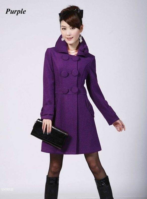 11 best The trench is on images on Pinterest | Purple trench coat ...