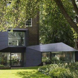 Exquisite Architecture Extension to Classic Victoria Villa – Lens House