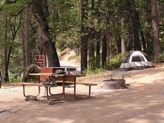 Wawona campground yosemite national park ca parks for Yosemite park camping cabins