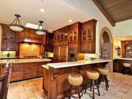 Great Rustic Style Kitchen Cabinets Sarasota