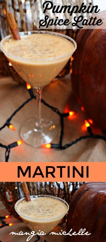 The pumpkin spice latte martini (AKA the PSL martini) is the perfect cocktail to enjoy on a crisp, cool autumn day. Have this by the fire pit and enjoy the fall foliage.
