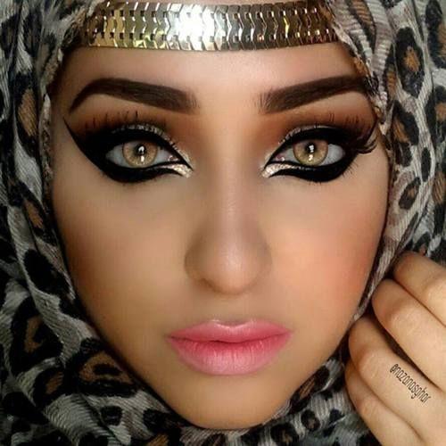 28 best arabic eye makeup images on pinterest