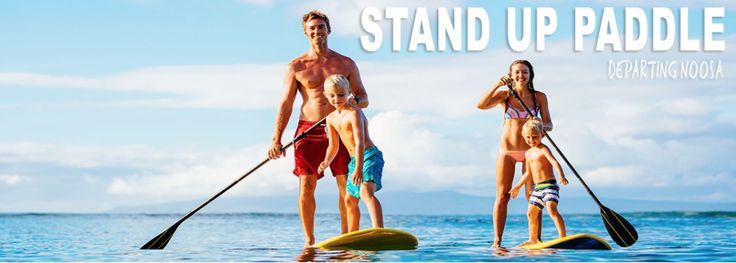 LEARN STAND UP PADDLE BOARD  Fun for the whole family on your Noosa holiday. Spot dolphins, turtles and sea birds while you enjoy the natural beauty that Noosa has to offer. Photo credit and for information of what is on offer visit http://epicoceanadventures.com.au. www.balinesebeachhousenoosa.com