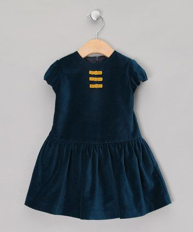 Navy Bow Dress by Fina Ejerique