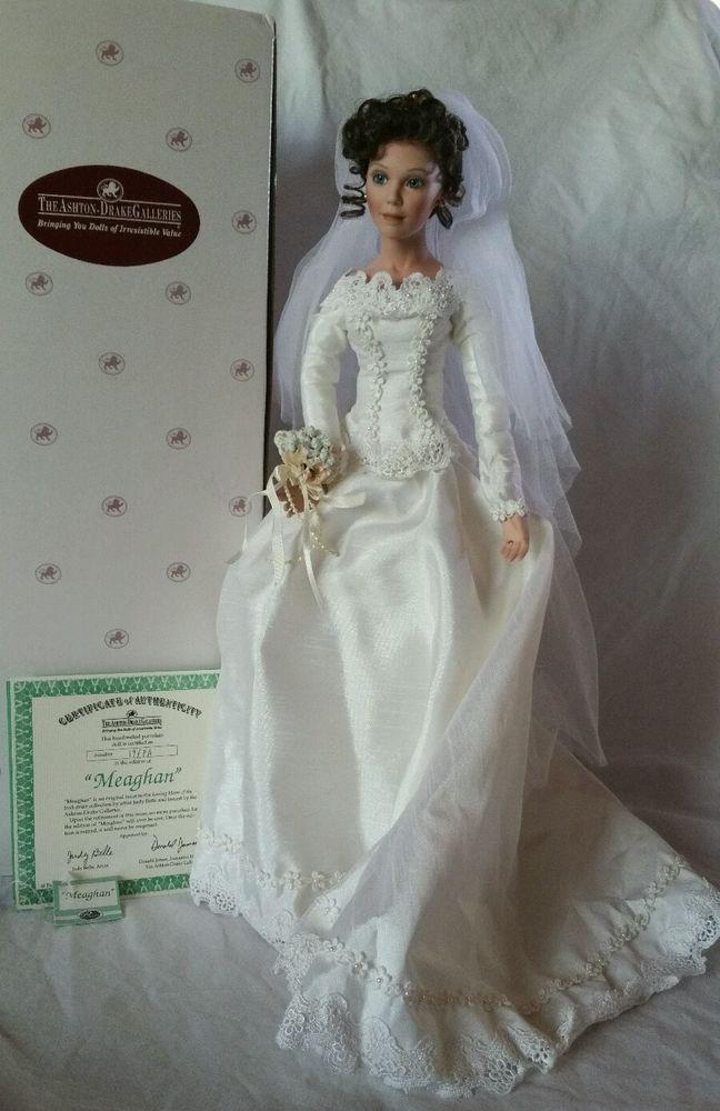 Ashton Drake Quot Meaghan Quot 18 Quot Porcelain Bride Doll W Box