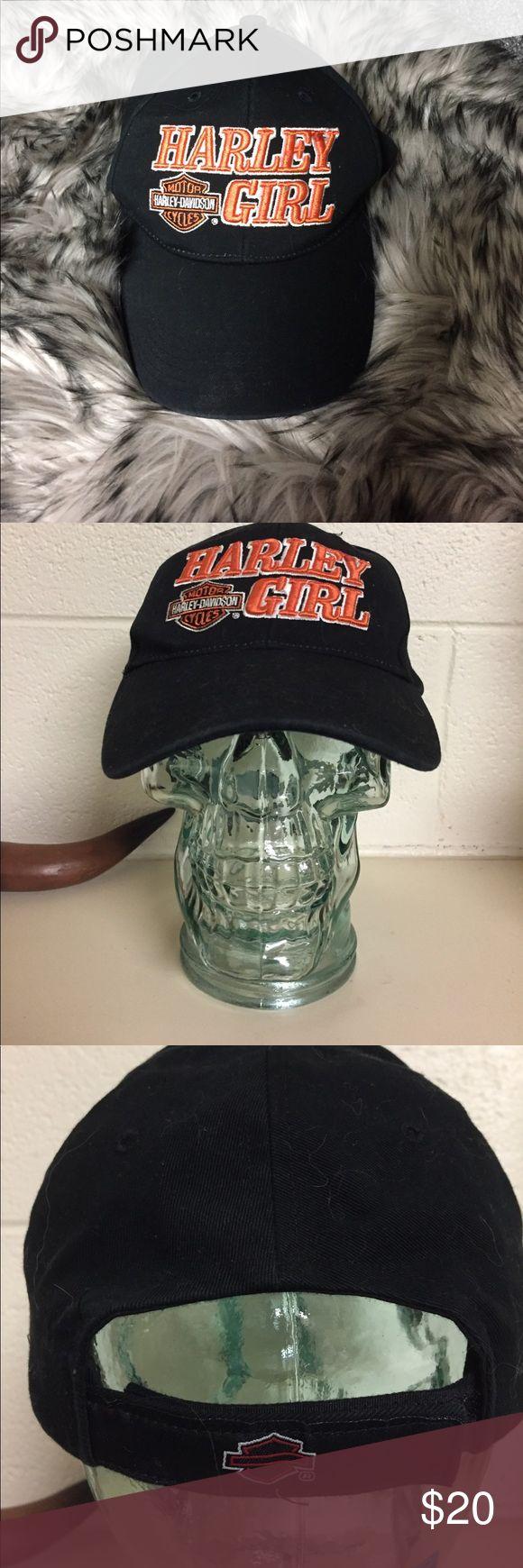 Harley Davidson hat Worn several times, great condition Harley-Davidson Accessories Hats