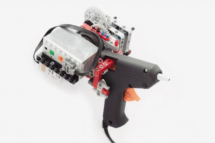 LEGO MOC MOC-2629 Lego 3D printer extruder - building instructions and parts list.
