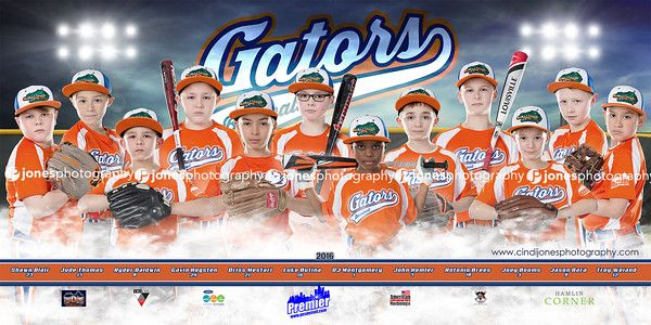 Baseball Team Banner Gators 2016_Jones Photography_JonesPhotography_Sports Banner_Softball Banner_Baseball Banner_Team Pictures_Softball Posters_Sports Posters_Softball Team Pictures_Macomb County Photographer_Sterling Heights Photographer