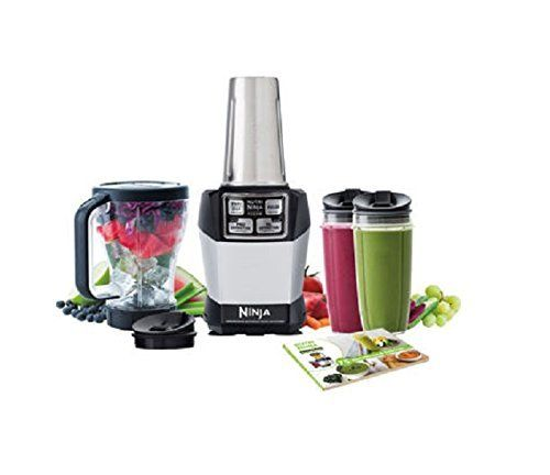 Nutri Ninja Blender Auto-IQ Complete Extraction System 1000W Professional BL486 (Certified Refurbished)  This Certified Refurbished product is tested and certified to look and work like new. The refurbishing process includes functionality testing, basic cleaning, inspection, and repackaging. The product ships with all relevant accessories, a minimum 90-day warranty, and may arrive in a generic box. Only select sellers who maintain a high performance bar may offer Certified Refurbished ...