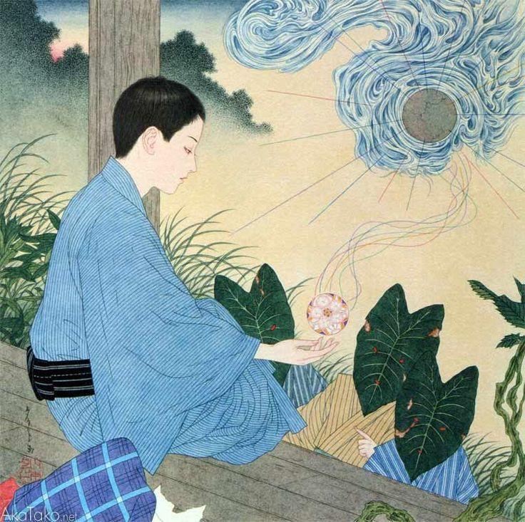 "from ""Grass Labyrinth""by Takato Yamamoto"