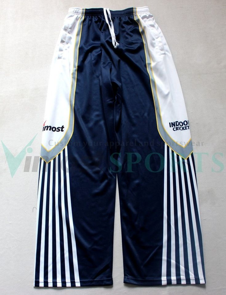 About Custom Sublimation Cricket Playing Pants1,Material: Fabric #M(double k nit woven100% polyester double knit is a tightly-woven fabric) or Other fabric you