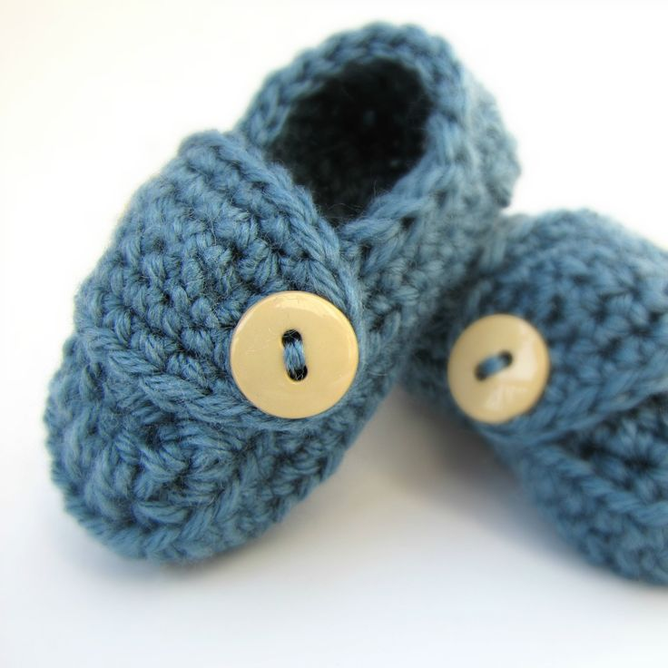 Boys Baby Booties NEWBORN BABY SHOWER gift Little Loafers for Newborns. $14.00, via Etsy.