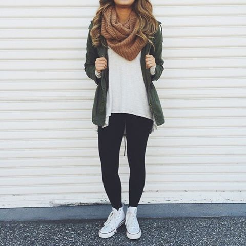 104 best Black leggings outfit images on Pinterest | Feminine fashion Casual wear and Fall ...