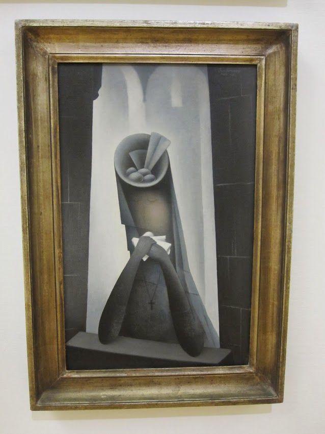Jan Zrzavy - La veuve - 1923
