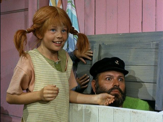 Pippi and her Poppa