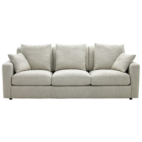 Benson 3 Seat Sofa Arden Natural