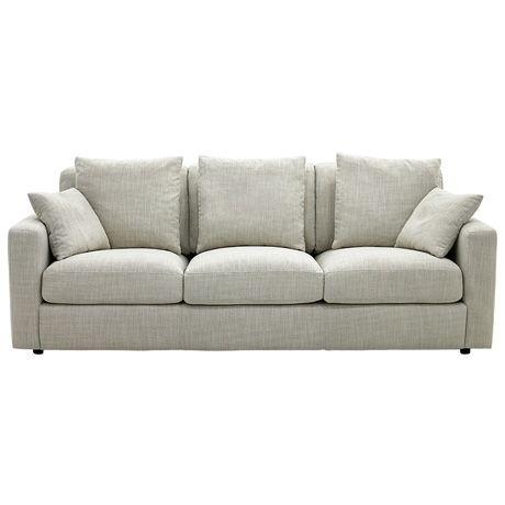 Benson 3 Seat Sofa | Freedom Furniture and Homewares